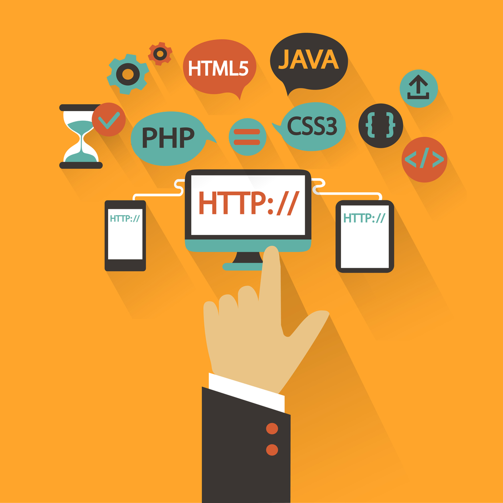 Website Coding Language and Structure