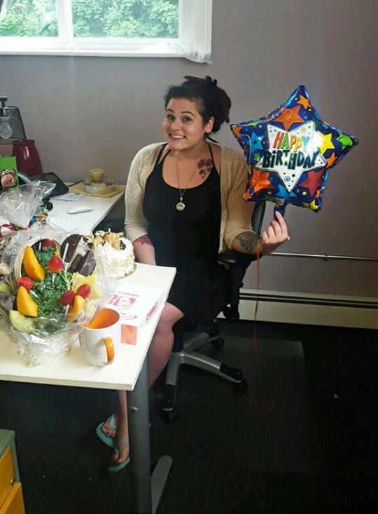 AnnMarie Minichiello on her Birthday at Logic Web Media