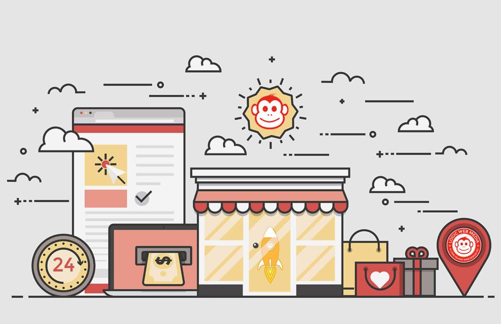 eCommerce Graphic logic web media