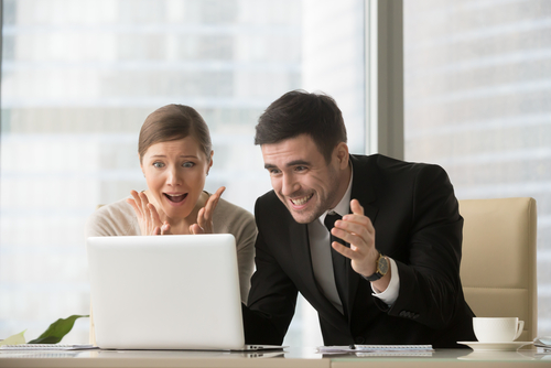 people happy about new website